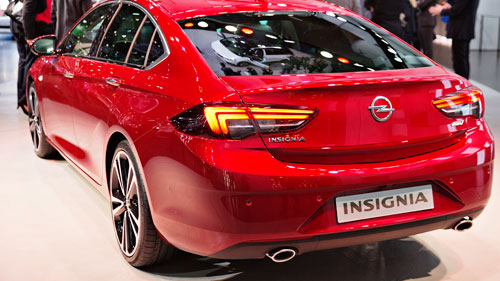 New Opel Insignia, during the 87th International Motor Show in Geneva. (AAP)