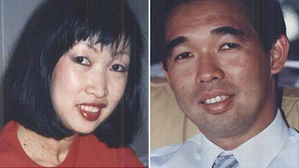 Gerard Caleo has been cleared of involvement in the stabbing death of Rita Caleo (left), the first wife of his brother Mark Caleo who is accused of her murder as well as the murder of her brother Dr Michael Chye (right). (AAP)