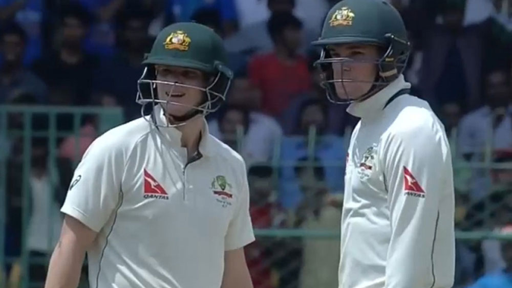 Peter Handscomb takes the blame for Steve Smith's controversial dismissal