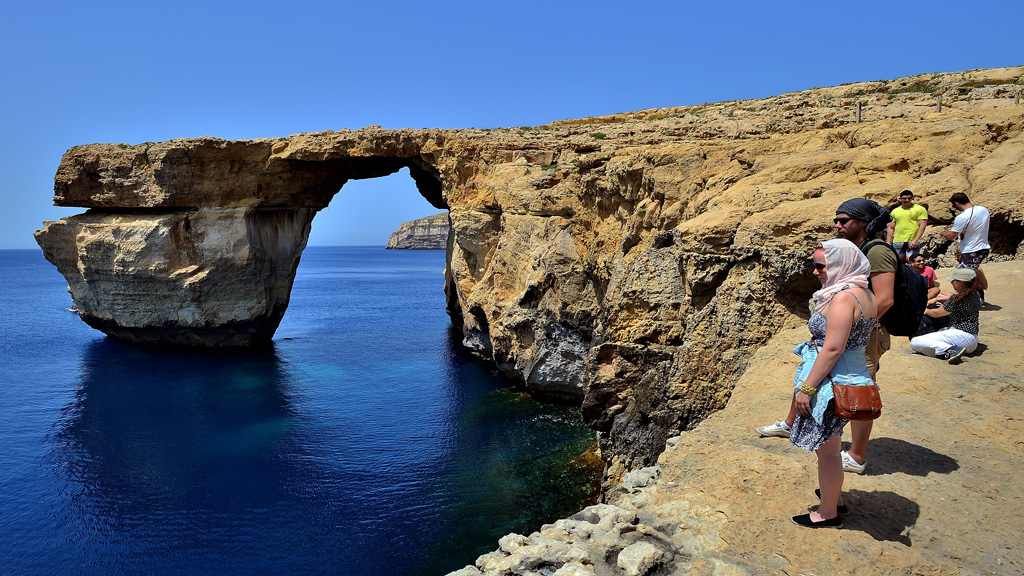 Malta's iconic Azure Window rock arch is now gone for good