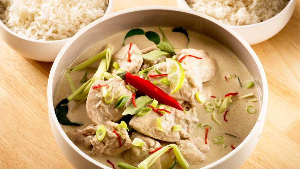Javanese chicken curry