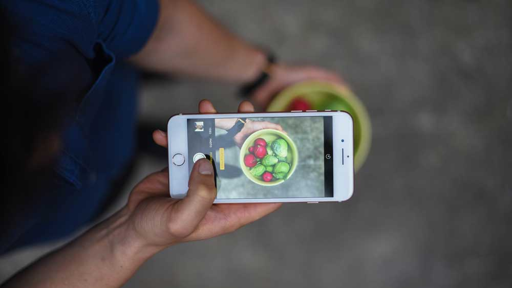 Dan Churchill on taking food photos with an iPhone