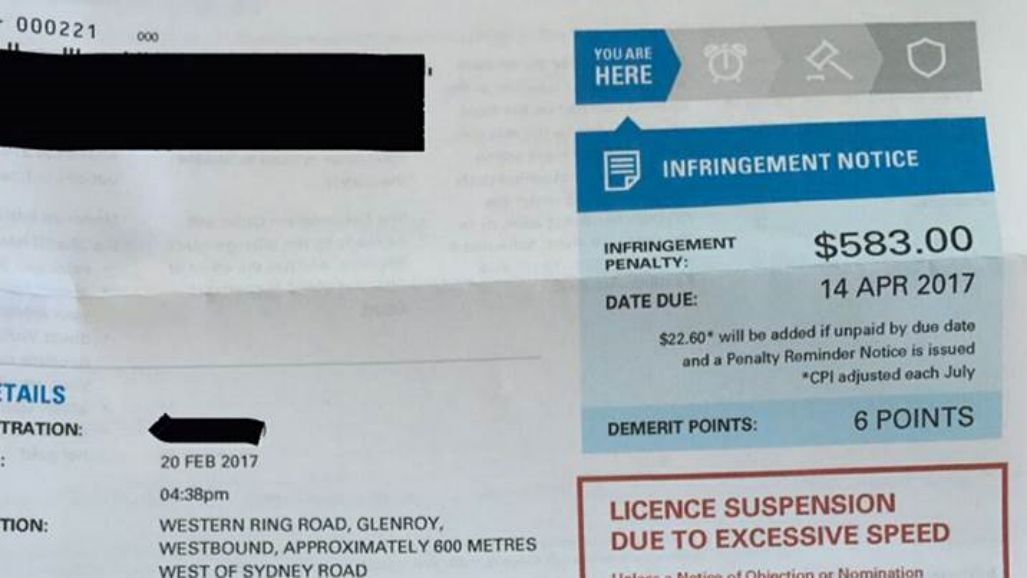 Investigation launched after drivers report incorrect speeding fines on Melbourne highway