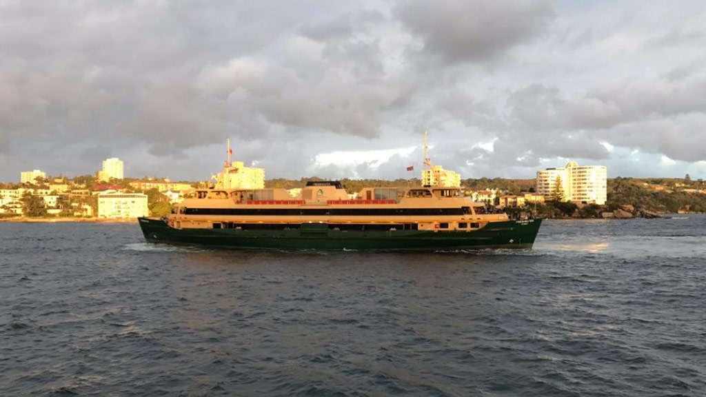 Passengers stranded on Sydney ferry for hours after vessel gets stuck