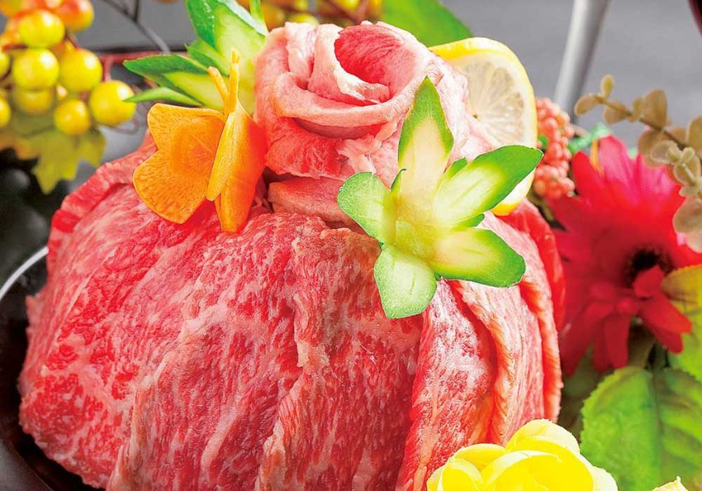 Japanese raw meat cake. Image: INstagram/@nasse_fukuoka