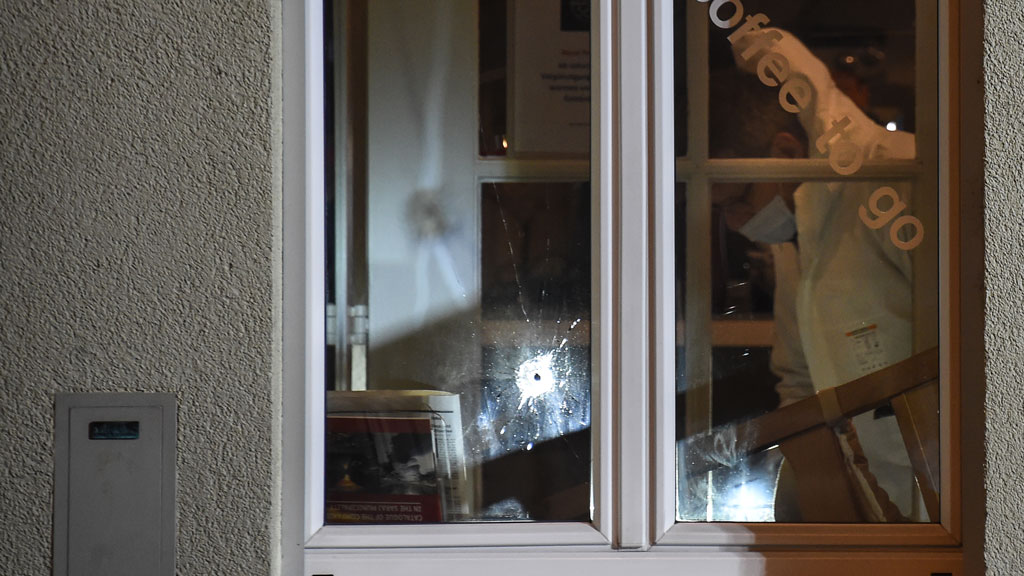 Two killed after men open fire at cafe in Switzerland