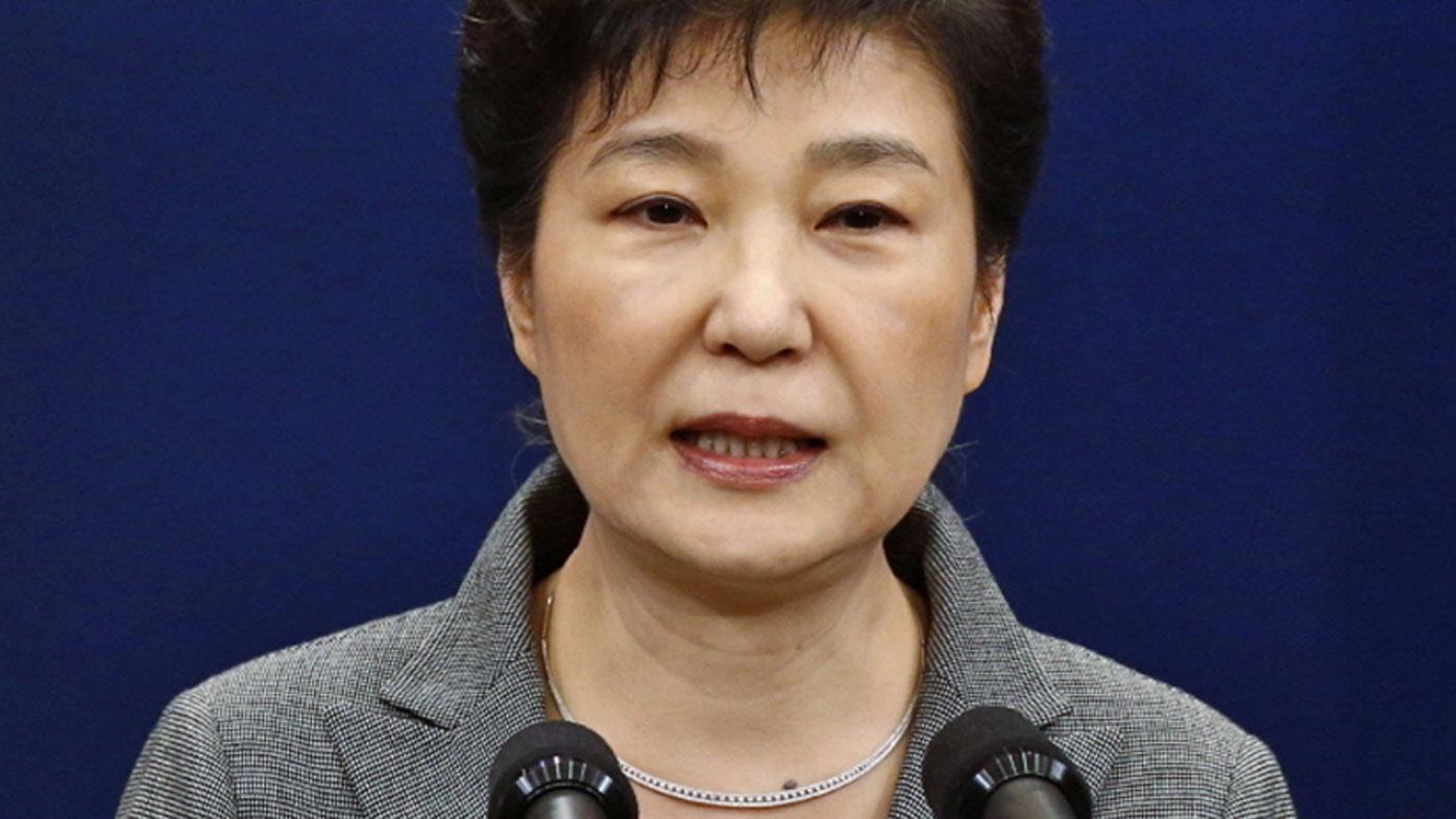 Court throws out S.Korean President Park