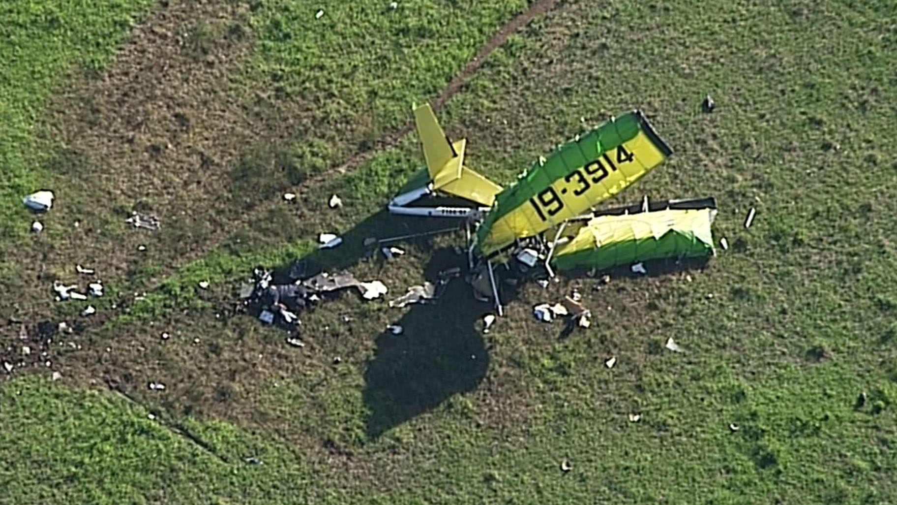 The cause of the crash is unknown. (9NEWS)