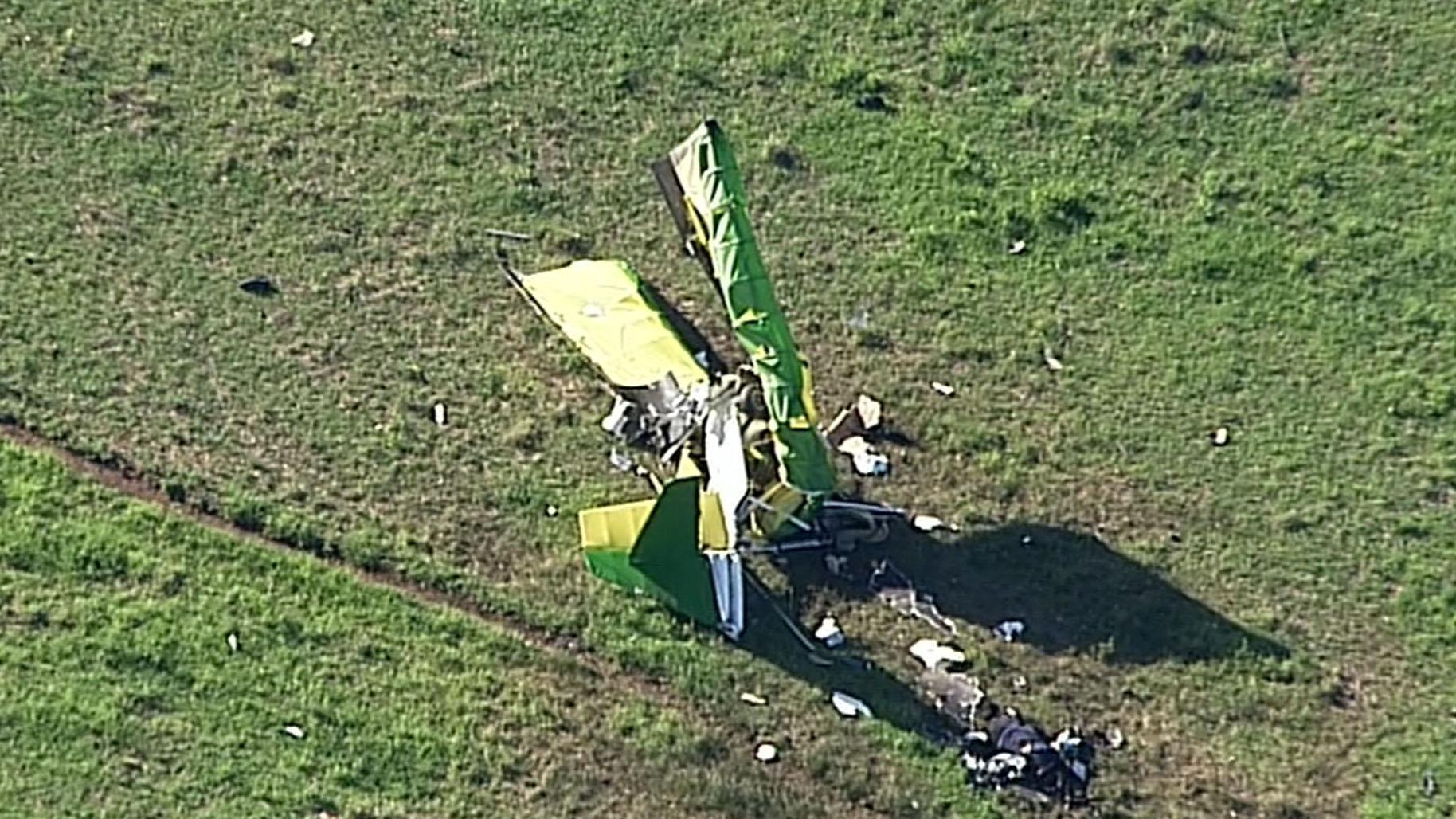 Pilot dead after plane crash in Sydney's south-west