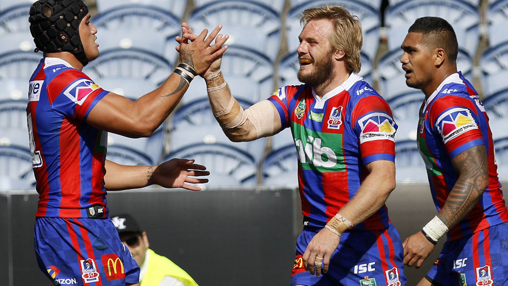 Knights break 19-game NRL losing streak