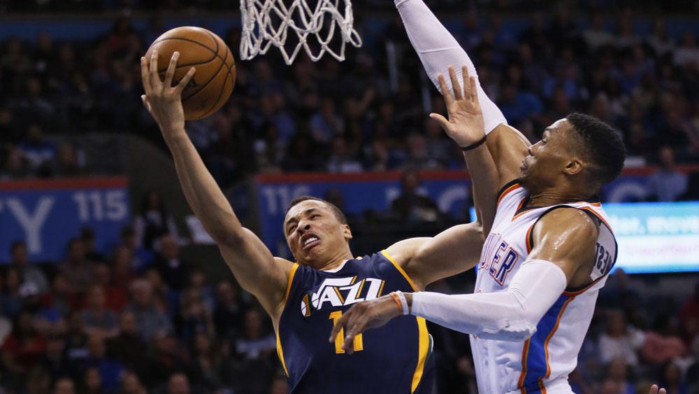 Exum scores career-high in Jazz NBA loss