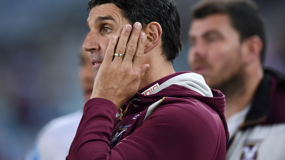 Manly coach Trent Barrett's post-game blow up