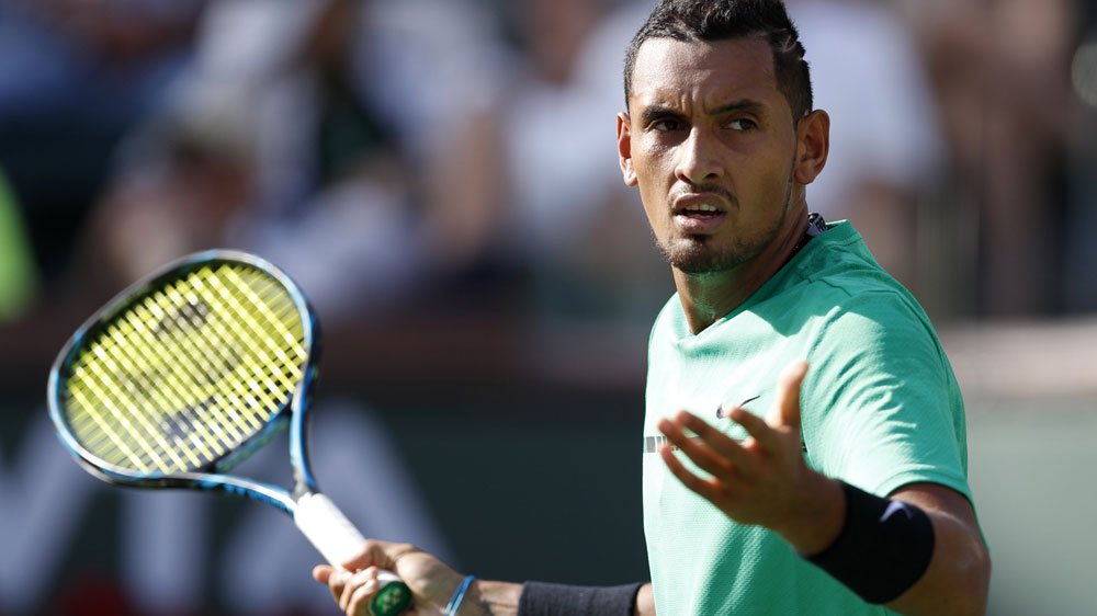 Kyrgios to face Djokovic in Indian Wells