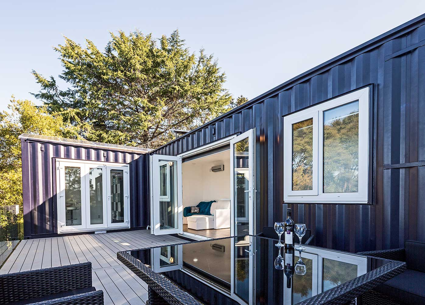Shipping container homes building your own diy container for Build your own modern home