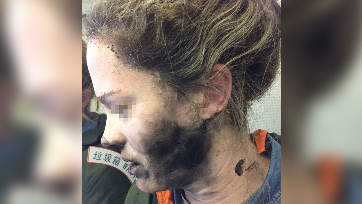 Aussie woman's headphones explode during flight