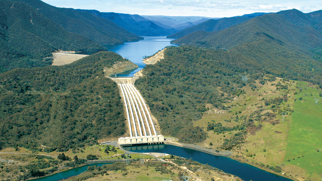 The Snowy Hydro scheme began in 1949. (File/AAP)