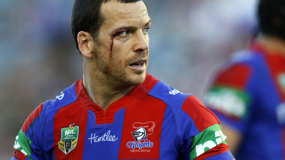 Newcastle Knights player Jarrod Mullen is challenging his four-year ban. (AAP)
