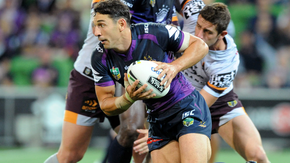 Storm snatch 14-12 NRL win over Brisbane