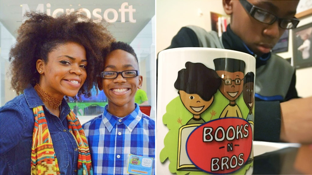 US boy launches book club to unite male peers who love reading