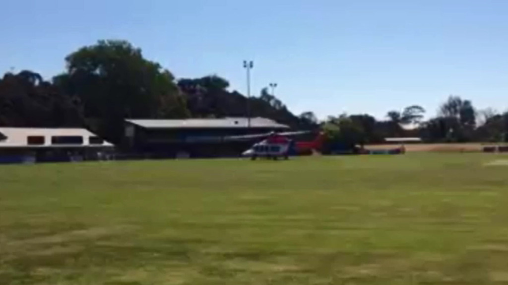 Man flown to hospital after falling near Victorian beach