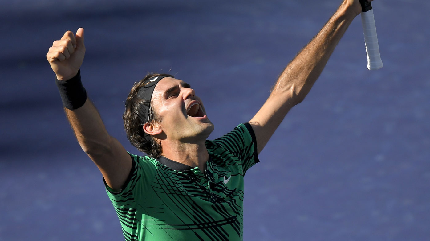 Federer is approaching his 36th birthday. (AAP)
