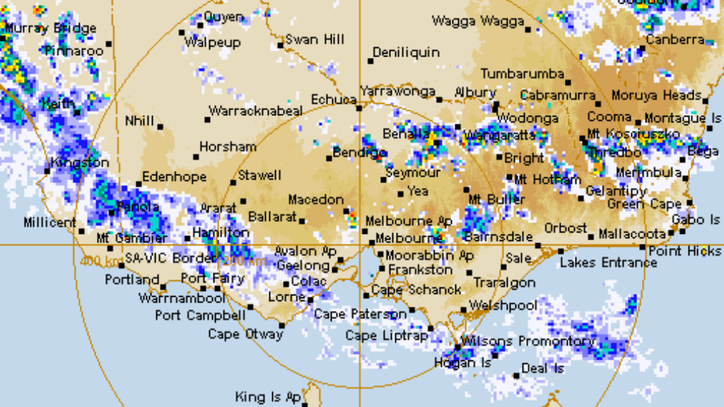 Powerful thunderstorms expected to lash balmy Melbourne