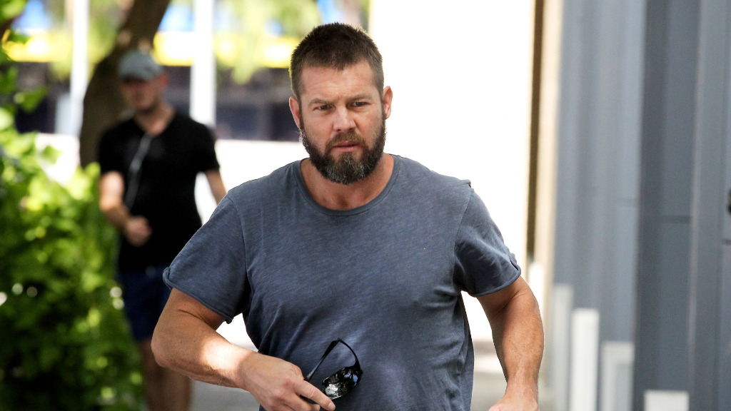 Ben Cousins pleads guilty to stalking and 10 other offences in Perth court