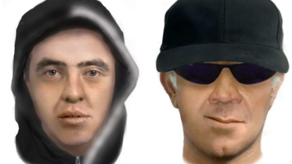 Composite image of the offender based on his victims' descriptions. (New South Wales Police)