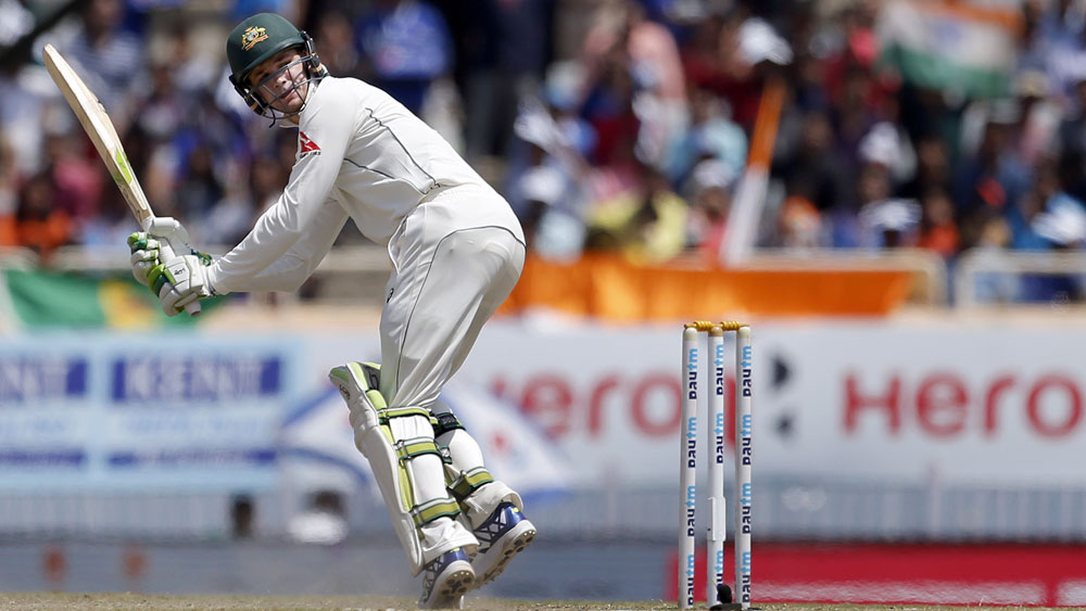 Peter Handscomb thrives under pressure in Ranchi.