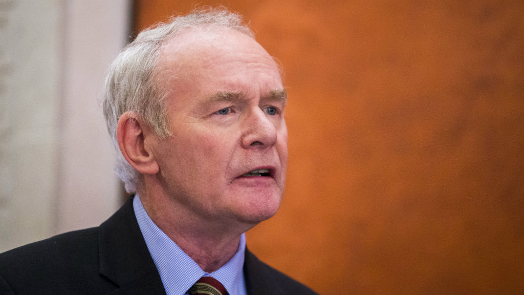 Martin McGuinness has died. (AAP)