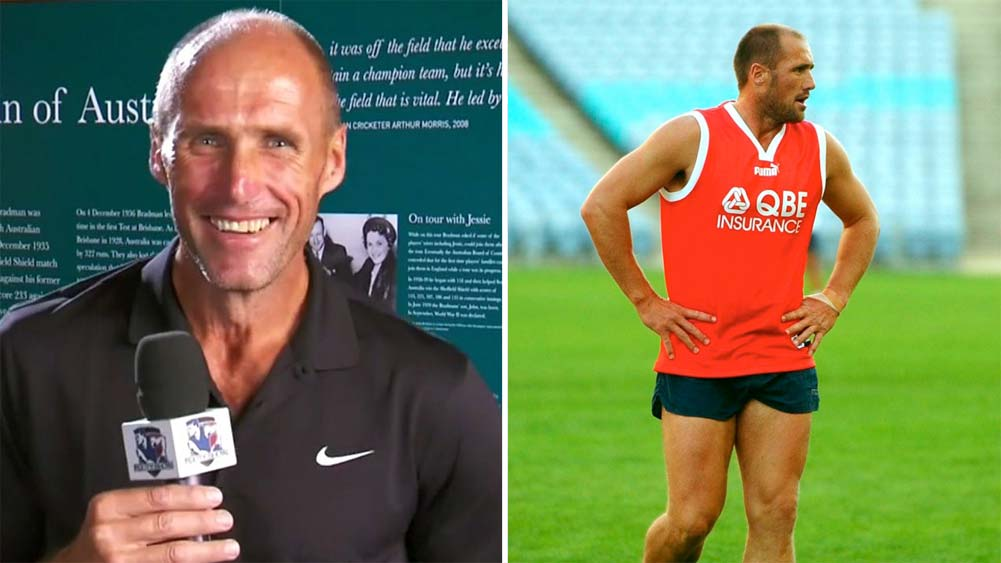 Tony Lockett weight loss