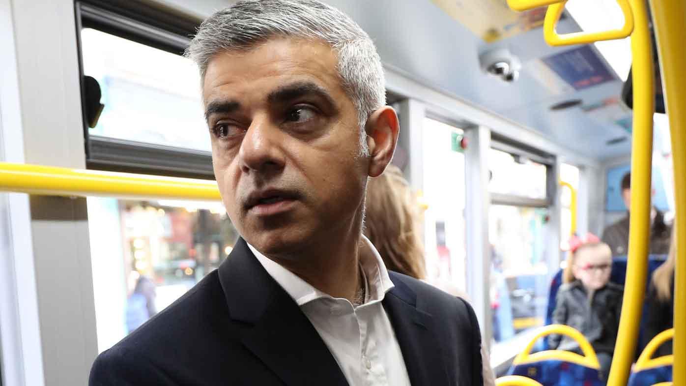 London mayor Sadiq Khan. (AAP)