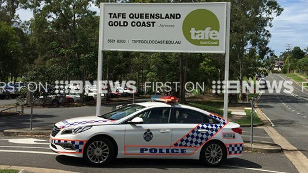 Ashmore TAFE given the all clear by police after reports of armed man