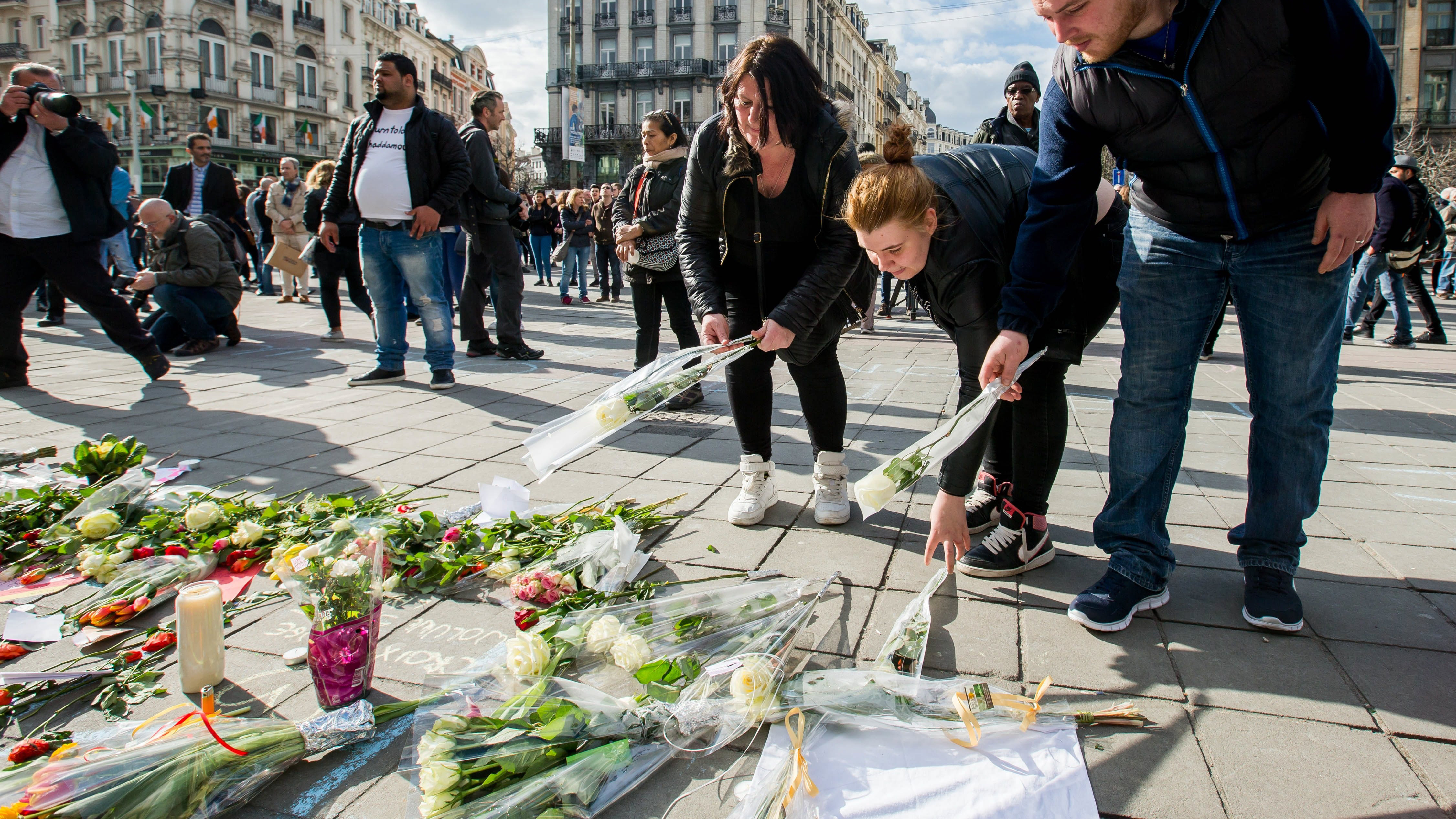 Belgium falls silent one year after Brussels attacks