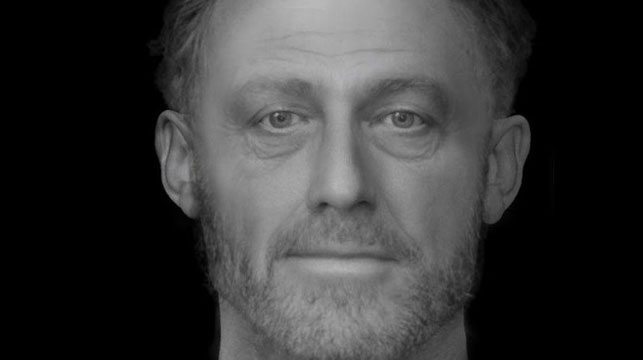 Researchers piece together the face of a 13th Century man