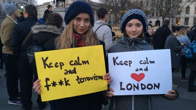 In pictures: London in mourning after Westminster attack
