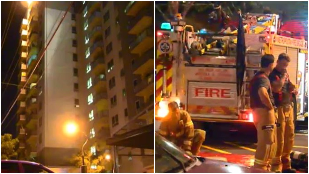 Hoarder rescued from South Melbourne apartment fire