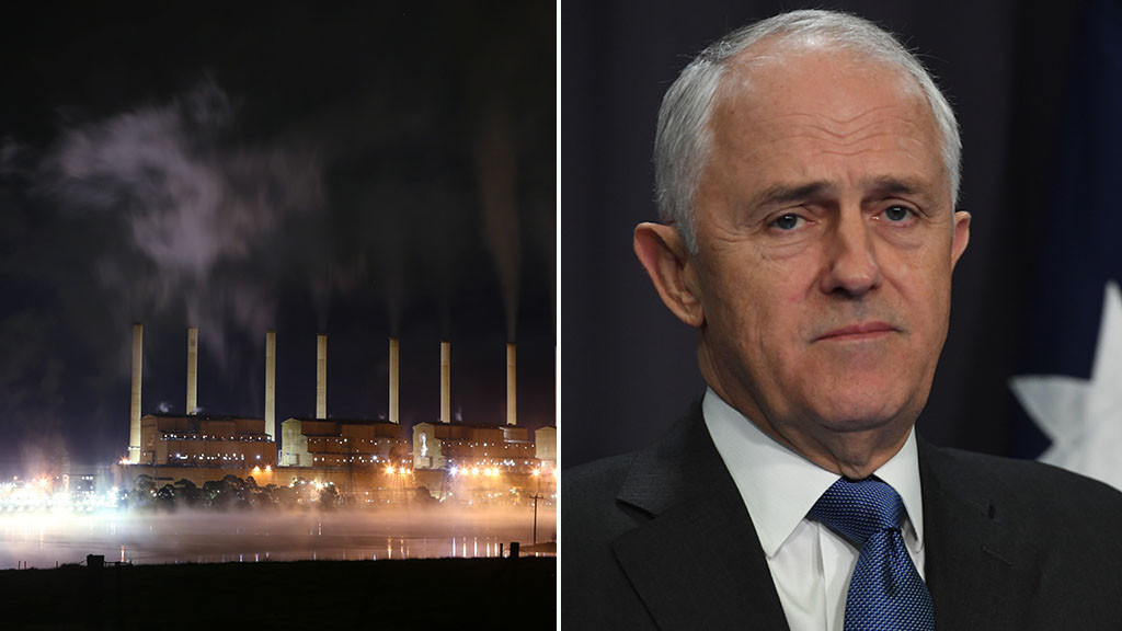 Prime Minister Malcolm Turnbull said the decision to close Hazelwood was a commercial one taken by its owner. (AAP)