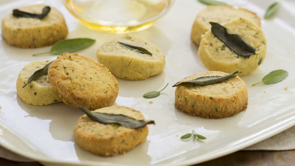 Indira Naidoo's sage and cheddar biscuits