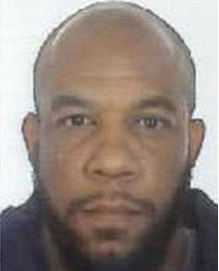 A headshot of Khalid Masood released by Metropolitan Police.
