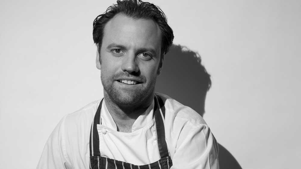 The Ledbury's chef Brett Graham