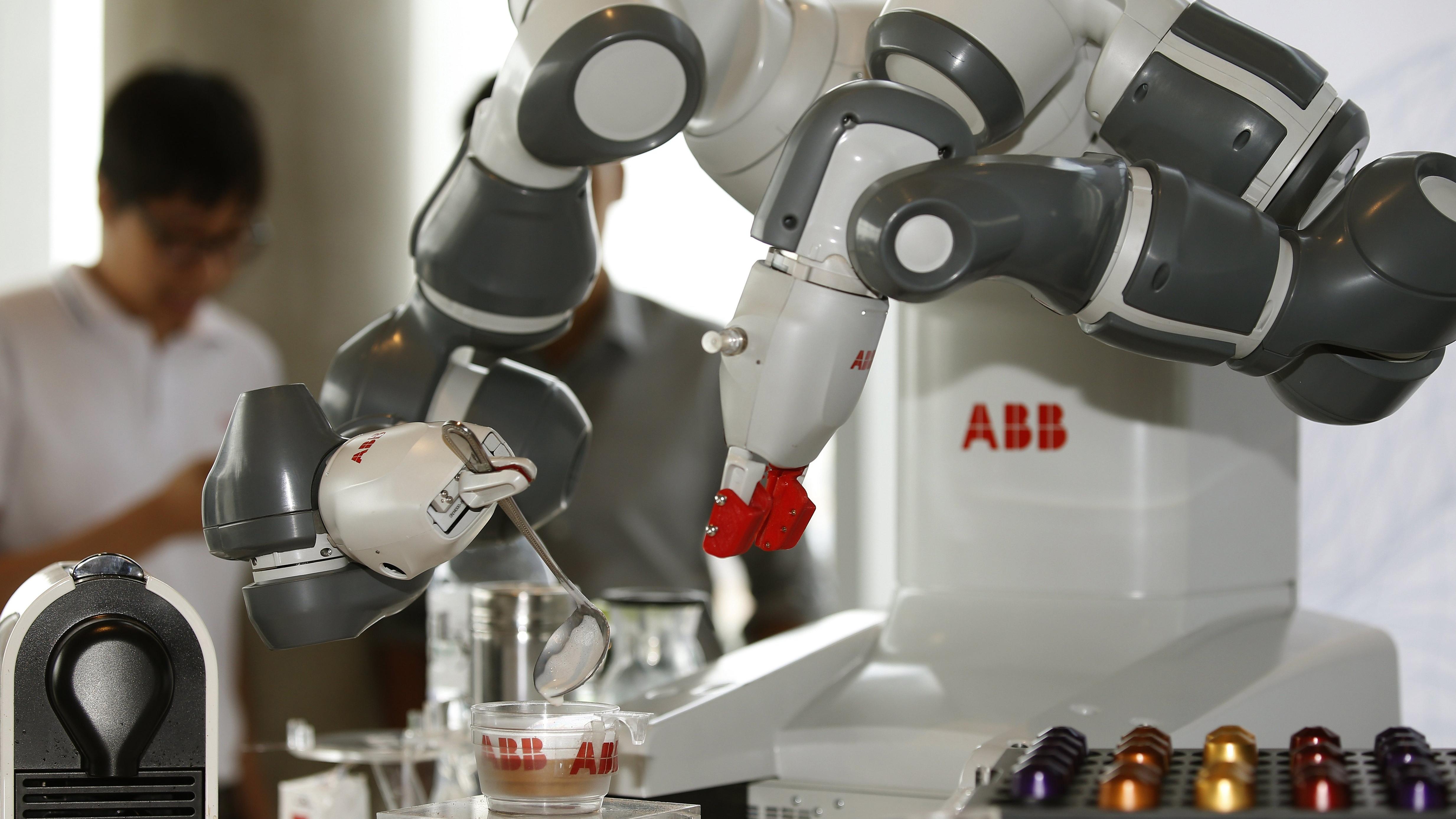 Tech world debate on robots and jobs heats up