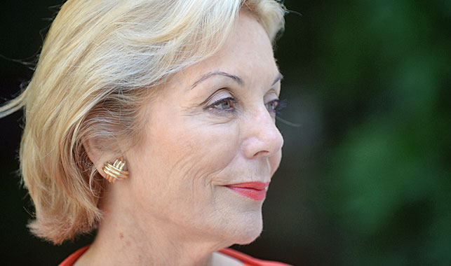 Lizzie Buttrose's aunt Ita Buttrose. (AAP)