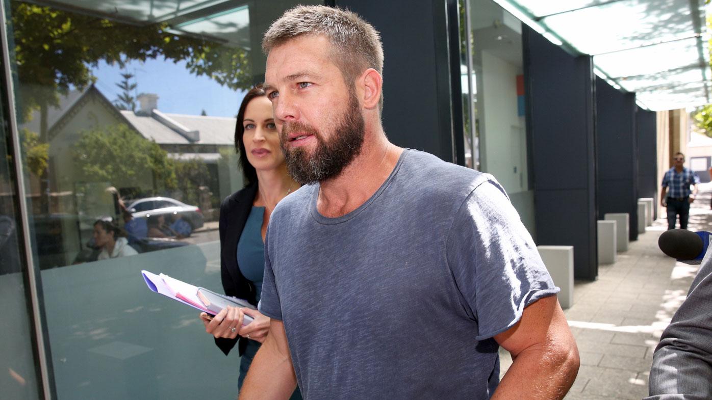 Ben Cousins has failed a drug test behind bars. (AAP)