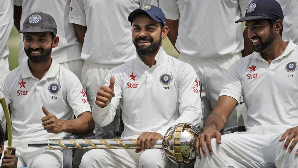 Indian captain Virat Kohli says he'll never be friends with the Aussies