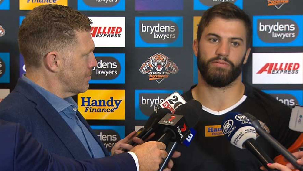 Wests Tigers fullback James Tedesco wants winning feeling in next contract