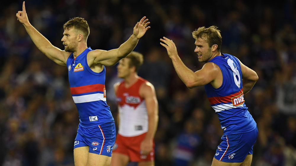 Western Bulldogs down Sydney Swans in AFL grand final replay