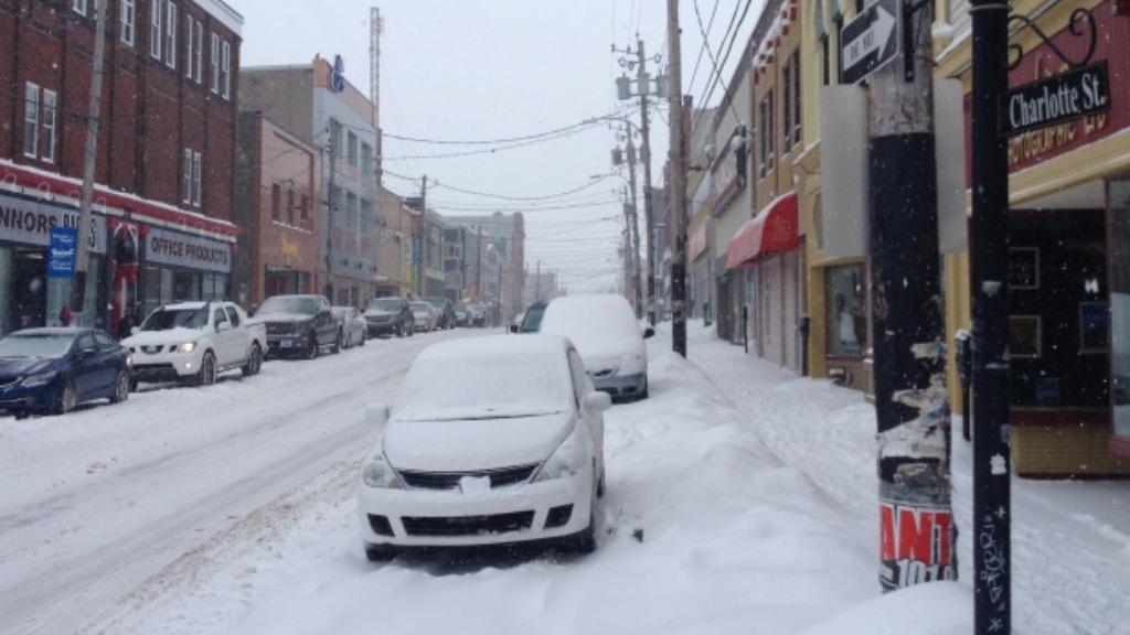 Sydney, Nova Scotia, has temperatures averaging 1.5 degrees in March. (CBC)