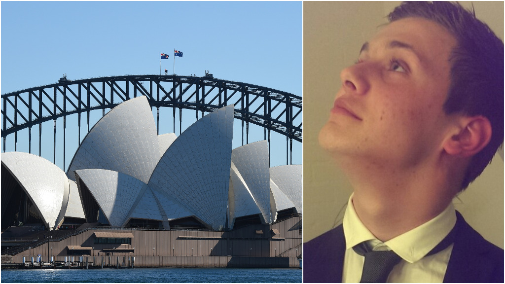 Dutch student accidentally flies to the wrong Sydney