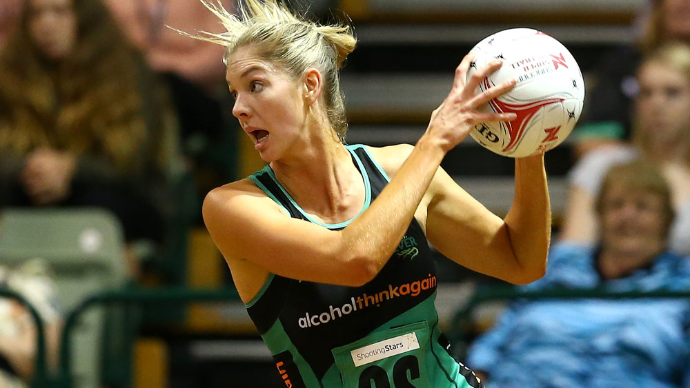 Kaylia Stanton was the star for the West Coast Fever. (Getty Images)